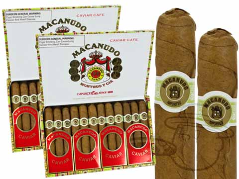 Macanudo Caviar Cafe 2 Box Deal 2-Fer (2 Boxes)  100 Total Cigars