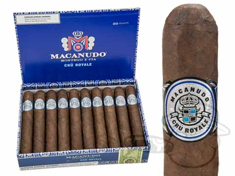 Macanudo Cru Royale Robusto Box - 20 Total Cigars