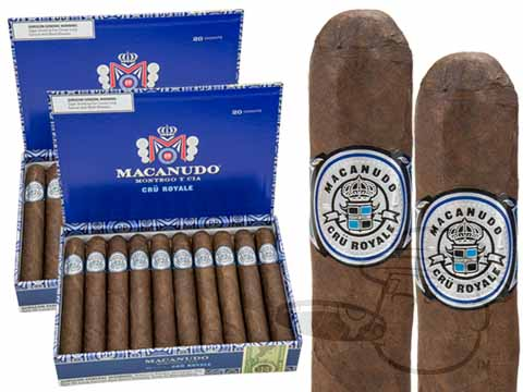Macanudo Cru Royale Robusto 2x Deal 2X Deal - 40 Total Cigars