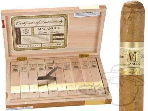 Macanudo Estate Reserve No. II