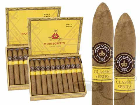 Montecristo Classic Collection #2 2 Box Deal 2-Fer (2 Boxes)  40 Total Cigars