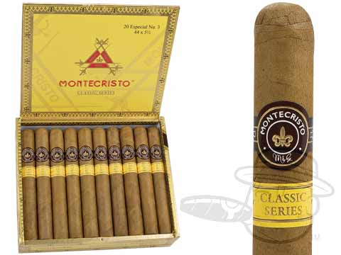 Montecristo Classic Collection #3 Box of 20