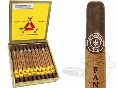 Montecristo Habana 2000 Fancy Tales 6 3/4 x 39—Box of 20 ...