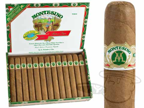 Montesino Toro Natural Box - 25 Total Cigars