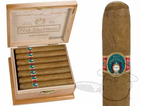 Nat Sherman Host Selection Hamilton Box of 25