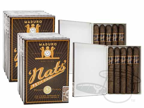 NAT SHERMAN NAT'S SELECTION POINT FIVE MADURO 2X Deal 2X Deal   50 Total Cigars