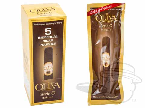 Oliva Serie G Robusto Cameroon Fresh Pack Sealed Pack of 5
