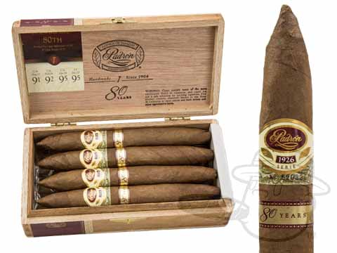 Padron Anniversario Serie 1926 80th Anniversario Natural Box - 8 Total Cigars