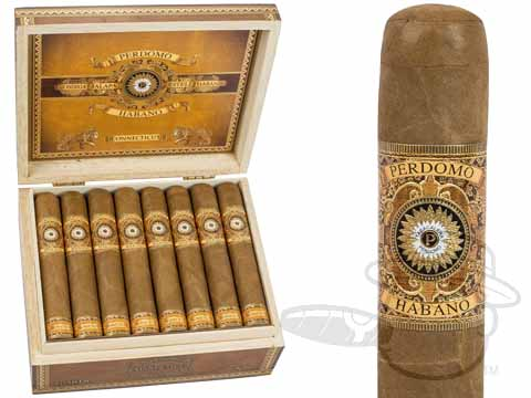 Perdomo Habano Bourbon Barrel-Aged Connecticut Gordo  Box - 24 Total Cigars