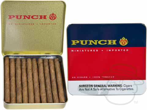 Punch Miniatures Tin of 20