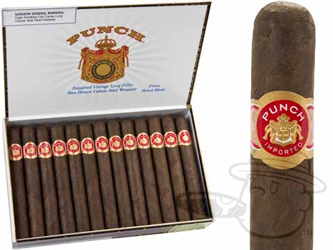 Punch Pitas Maduro Box of 25