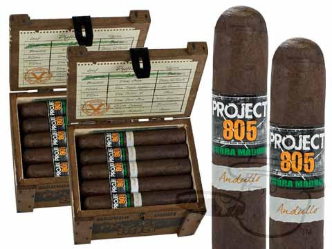 Project 805 Robusto Maduro 2 Box Deal 2-Fer - 40 Cigars Cigars