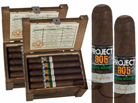 Project 805 Toro Maduro 2 Box Deal 2-Fer - 40 Cigars Cigars