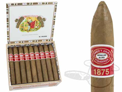 Romeo Y Julieta 1875 Belicoso Box - 25 Total Cigars