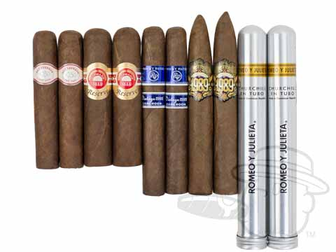 10 Cigars Throughout The Decades Sampler