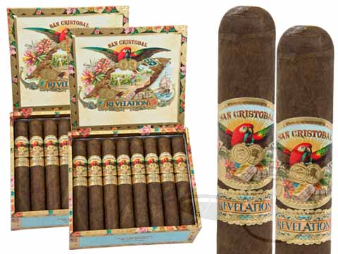 SAN CRISTOBAL REVELATION LEVIATHAN 2X Deal 2X Deal 48 Total Cigars