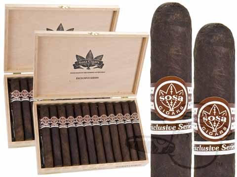 SOSA GRAND CETRO MADURO 2X Deal 2X Deal  50 Total Cigars Cigars