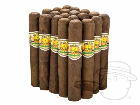 Spirit of Cuba Robusto Habano - by Alec Bradley Bundle of 20