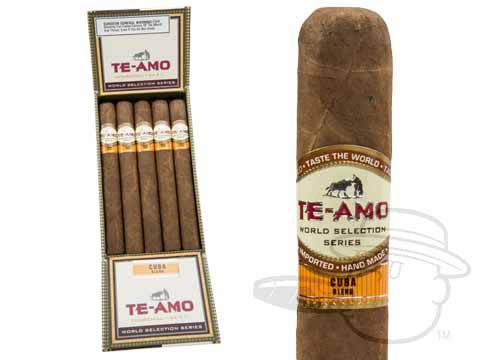 Te-Amo World Selection Series Cuban Blend Churchill Box of 15