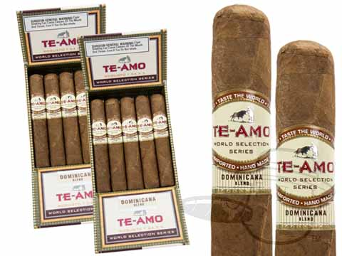 Te-Amo World Selection Series Dominicana Blend Robusto 2x Deal 2X Deal  30 Total Cigars Cigars