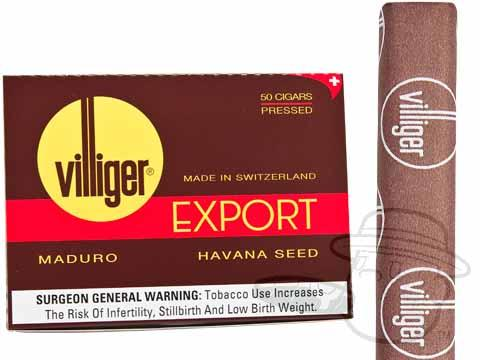 Villiger Export Maduro Box Box of 50