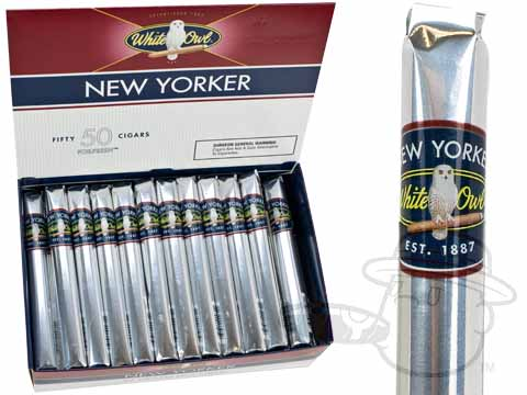 White Owl New Yorker Box Box - 50 Total Cigars