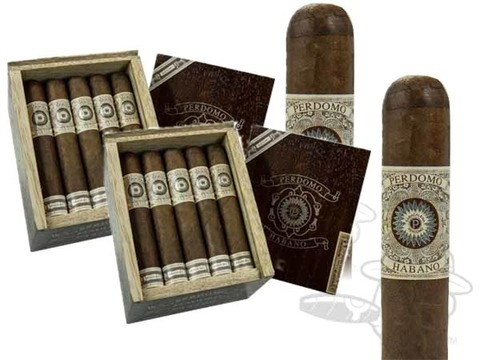 Perdomo Habano Gordo Maduro 2 Box Deal 2-Fer (2 Boxes) - 40 Cigars