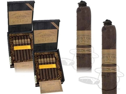 Kristoff Original Maduro Churchill 2 Box Deal 2-Fer  40 Total  Cigars