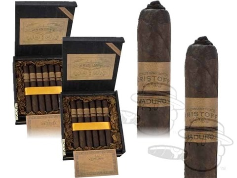 Kristoff Original Maduro Matador 2 Box Deal 2-Fer  40 Total  Cigars