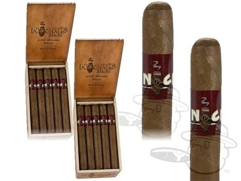 Nick's Sticks Churchill Sun Grown - By Perdomo 2 Box Deal 2 Box Deal -  40 Total Cigars