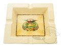 San Cristobal Square Ashtray - Cream thumbnail image 1
