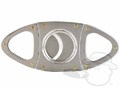 Orleans Oval Silver Cigar Cutter thumbnail image 1