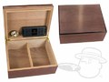 Bubinga Medium Humidor By Savoy - 50 Count thumbnail image 1