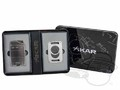 Xikar Magnetic Ultra Combo Cigar Accessory Set - Silver thumbnail image 1